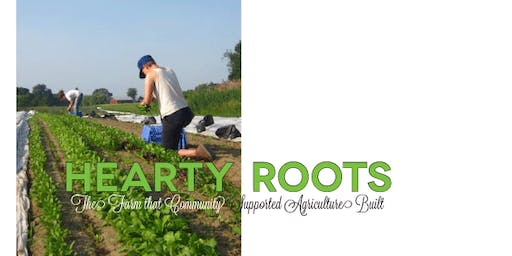 Fall Speaker Seminar - Hearty Roots Farm Owners - Ben and Lindsey Shute