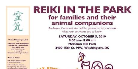 Reiki in The Park tickets