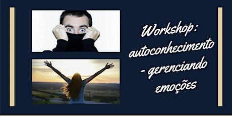 Autoconhecimento - gerenciando emoções ingressos