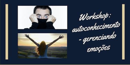 Workshop: autoconhecimento - gerenciando emoções