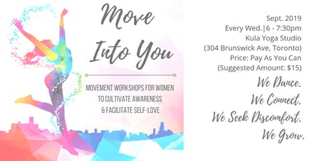 Move Into You - September 2019 Workshops tickets