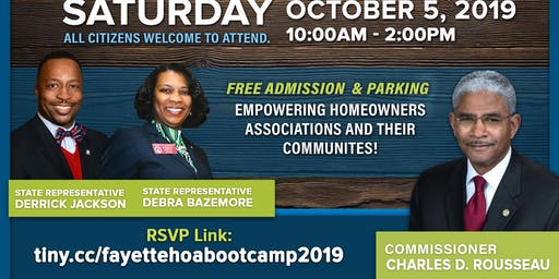 2019 Fayette HOA Boot Camp