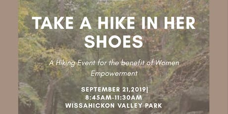 TAKE A HIKE IN HER SHOES tickets