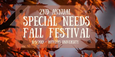 2nd Annual Special Needs Fall Festival