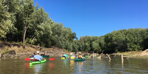 Menard County Trails & Greenways' Sangamon River Fall Float