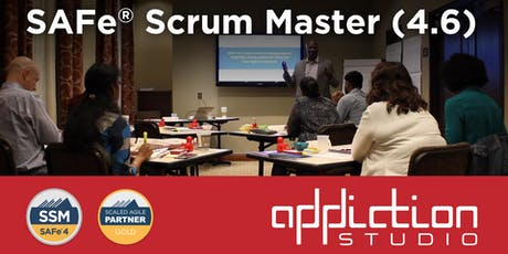 Scaled Agile (SAFe) Scrum Master 4.6 tickets