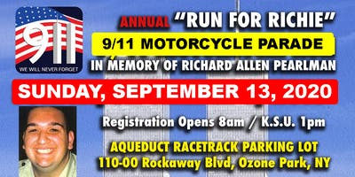"2020 ""Run for Richie"" 9/11 Memorial Motorcycle Parade"