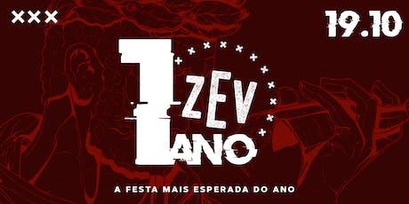 Aniversário de 1 ano Cervejaria ZEV ingressos
