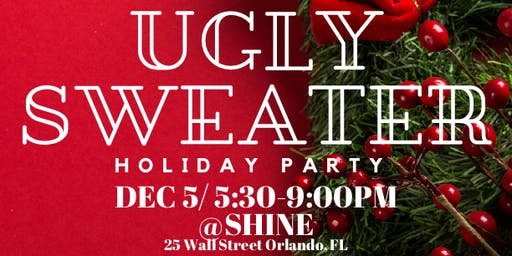 Prospanica Ugly Sweater Holiday Mixer