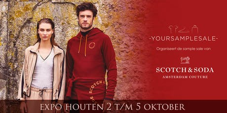 SCOTCH & SODA Sample Sale Okt 2019  tickets