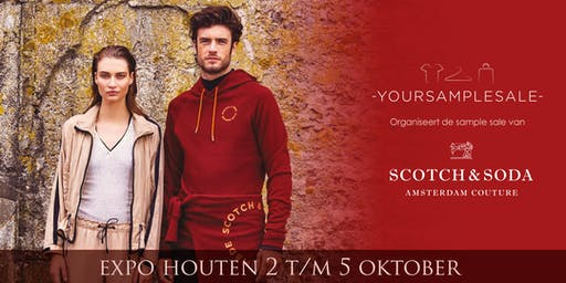 SCOTCH & SODA Sample Sale Okt 2019