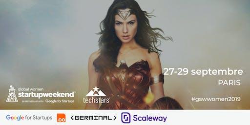 Global Startup Weekend Women Paris 2019