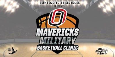 Offutt AFB Mavericks Military Basketball Clinic 2019