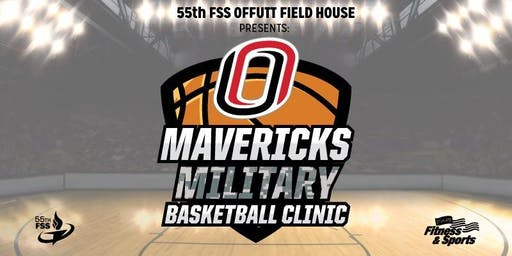 Offutt AFB Mavericks Military Basketball Clinic 2019