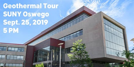 Geothermal Tour of Shineman Center at SUNY Oswego tickets