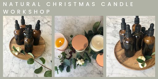 NATURAL CHRISTMAS CANDLE MAKING WORKSHOP by YOUGI