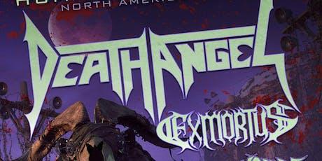 Death Angel, Exmortus, Hellfire tickets