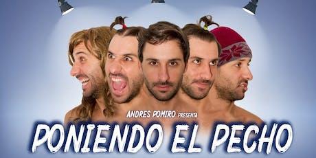 """Andres Pomiro - """"Poniendo el Pecho"""" en Villa Mercedes entradas"""