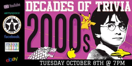 2000's Pop Culture Trivia at Growler USA The Colony tickets