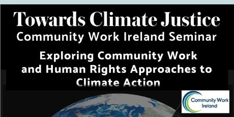 Exploring Community Work  and Human Rights Approaches to  Climate Action tickets