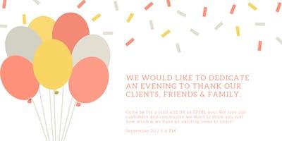 Customers, Friends & Family Appreciation Event