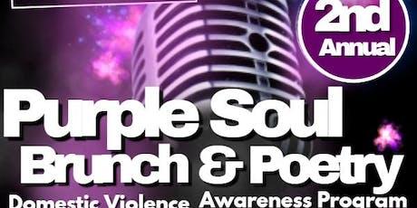 Purple Soul Brunch & Poetry tickets