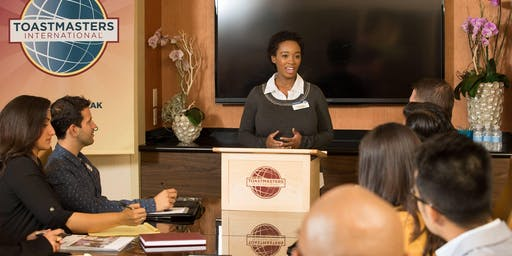 Triangle Toastmasters Open House - Visitors welcome!