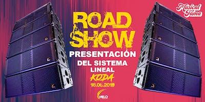 RoadShow Presentación de sistema lineal KODA