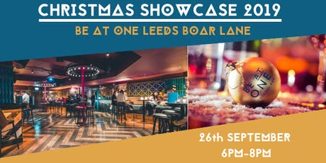 Be At One Leeds Boar Lane Christmas Showcase tickets