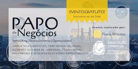 PAPO DE NEGÓCIOS tickets