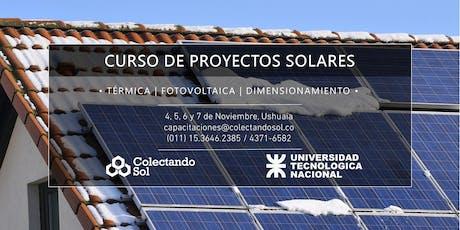 Curso de Proyectos Solares// Ushuaia Noviembre 2019 entradas