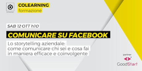 Comunicare su facebook tickets
