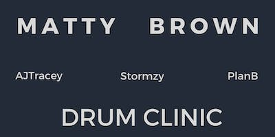 Drum Clinic With Matty Brown