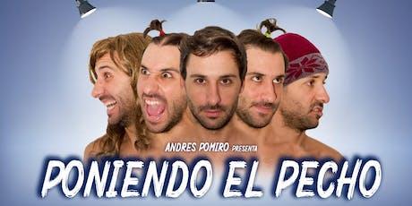 """Andres Pomiro - """"Poniendo el Pecho"""" en San Luis entradas"""