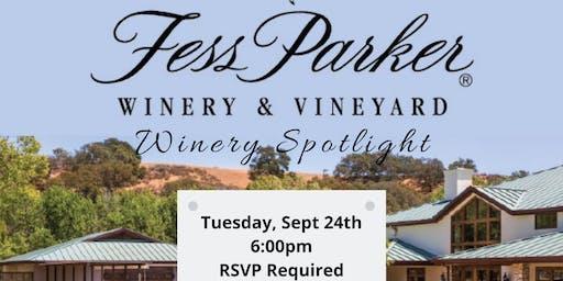 Winery Spotlight Pairing: Fess Parker