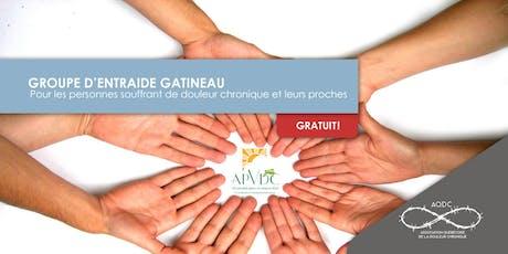 AQDC : Groupe d'entraide Gatineau : 17 septembre 2019 billets