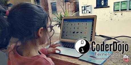CoderDojo Fernelmont - 21/09/2019 @CoworkingFernelmont billets