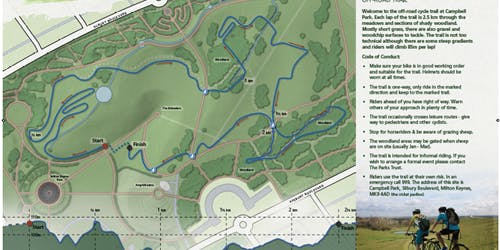 Campbell Park Off-Road Trail - Guided laps