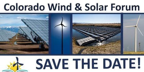 2019 Colorado Wind and Solar Forum tickets