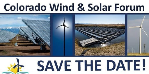 2019 Colorado Wind and Solar Forum