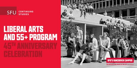 Liberal Arts and 55+ Program – 45th Anniversary Celebration tickets