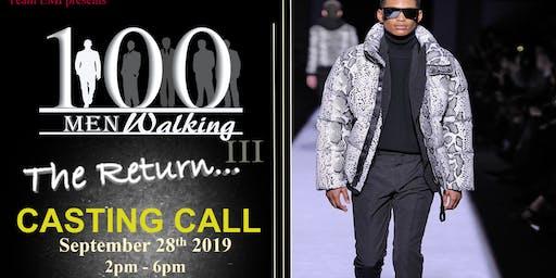 One Hundred Men Walking (OMW) CASTING CALL