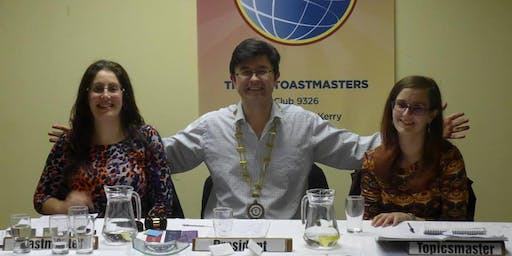 Open Night at Tralee Toastmasters