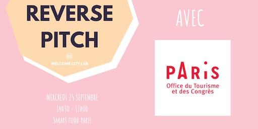 Reverse Pitch : Office du Tourisme et des Congrès de Paris