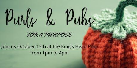 Purls & Pubs - October 13, 2019 tickets