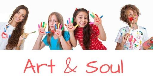 Copy of Art & Soul (ages 10-14) at Restore Meditation