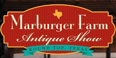 Round Top TX Antique Shopping tickets