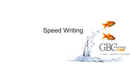 Speed Writing - Guildford tickets