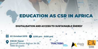 Education as CSR in Africa - Digitalisation and access to sustainable energy