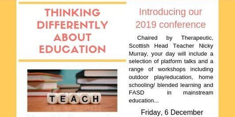 Education Conference 2019: Thinking Differently about Education tickets